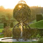 Giles Rayner Topiary water feature