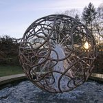 Giles Rayner Fusion water sculpture