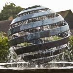 Giles Rayner Nebula 4 water sculpture