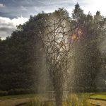 Giles Rayner Twiggy water sculpture