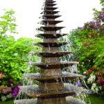 Giles Rayner Pagoda water sculpture