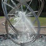 Giles Rayner Lasso water sculpture