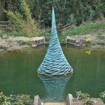 Giles Rayner Pinnacle water sculpture