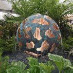 Giles Rayner Tectonic water sculpture