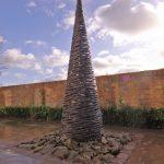 Giles Rayner Gravitational II water sculpture