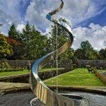 Giles Rayner Serpent Water Sculpture